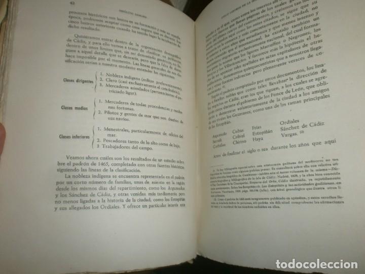 Libros antiguos: Cinco lustros de la Historia Gaditana Cádiz bajo el poderio de la casa Ponce de león 1945 Sevilla - Foto 4 - 254793655
