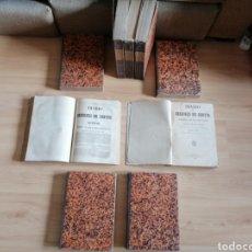 Libros antiguos: DIARIO DE LAS SESIONES DE CORTES / 1879-80 / 9 TOMOS. Lote 254934100
