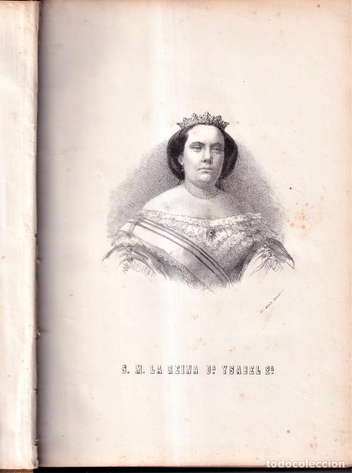 Libros antiguos: ISABEL II HISTORIA DE LA REINA DE ESPAÑA, POR MANUEL ANGELÓN - BARCELONA 1862 - Foto 2 - 257279485