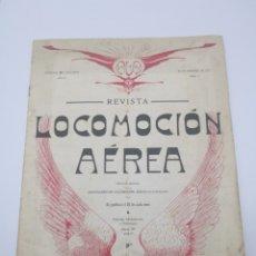 Libros antiguos: REVISTA LOCOMOCIÓN AÉREA N 2 FEBRERO DE 1911 BARCELONA. Lote 260090085