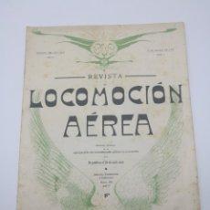 Libros antiguos: REVISTA LOCOMOCIÓN AÉREA N 3 FEBRERO AÑO 1911 BARCELONA AVIACIÓN. Lote 260090530
