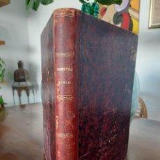 Libros antiguos: NUESTRO SIGLO. OTTO VON LEIXER. 1883 MONTANER Y SIMÓN TRADUC MENÉNDEZ Y PELAYO. Lote 263065305