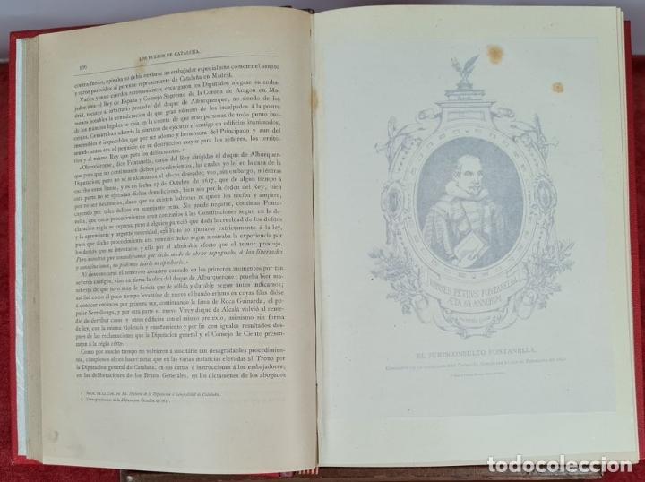 Libros antiguos: LOS FUEROS DE CATALUÑA. JOSE COROLEU Y JOSE PELLA. IMP. LUIS TASSO. 1878. - Foto 2 - 263237325