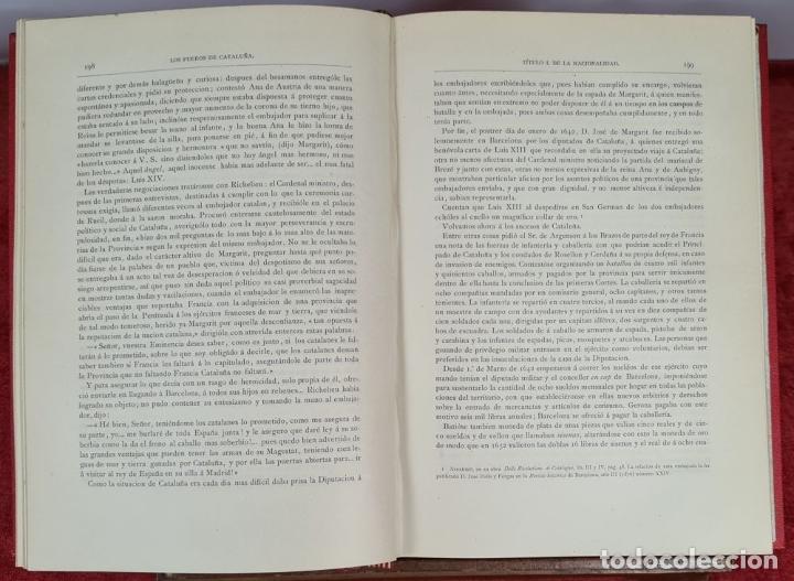 Libros antiguos: LOS FUEROS DE CATALUÑA. JOSE COROLEU Y JOSE PELLA. IMP. LUIS TASSO. 1878. - Foto 5 - 263237325