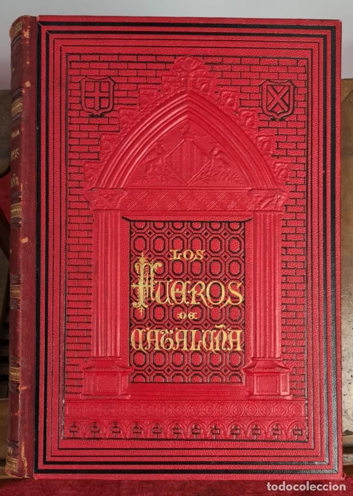 Libros antiguos: LOS FUEROS DE CATALUÑA. JOSE COROLEU Y JOSE PELLA. IMP. LUIS TASSO. 1878. - Foto 7 - 263237325