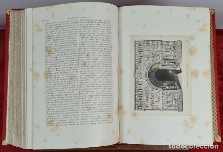 Libros antiguos: HISTORIA DE CATALUÑA. ANTONIO DE BOFARULL. EDIT. JUAN ALEU. 9 VOL. 8 T. 1876. - Foto 3 - 263242185