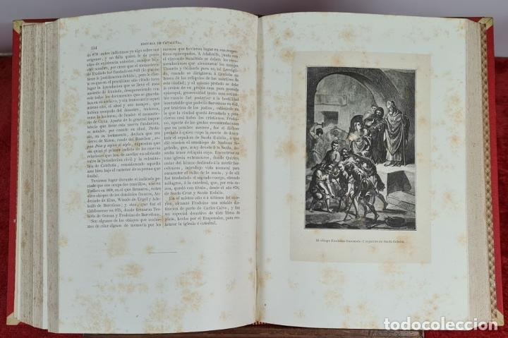 Libros antiguos: HISTORIA DE CATALUÑA. ANTONIO DE BOFARULL. EDIT. JUAN ALEU. 9 VOL. 8 T. 1876. - Foto 5 - 263242185
