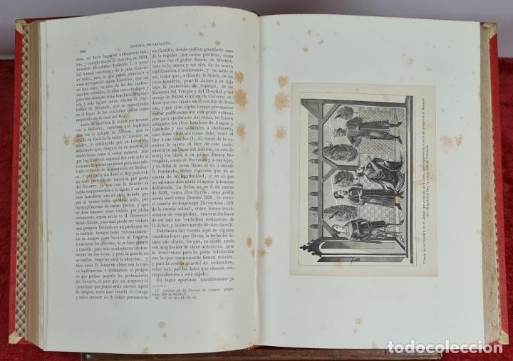 Libros antiguos: HISTORIA DE CATALUÑA. ANTONIO DE BOFARULL. EDIT. JUAN ALEU. 9 VOL. 8 T. 1876. - Foto 6 - 263242185