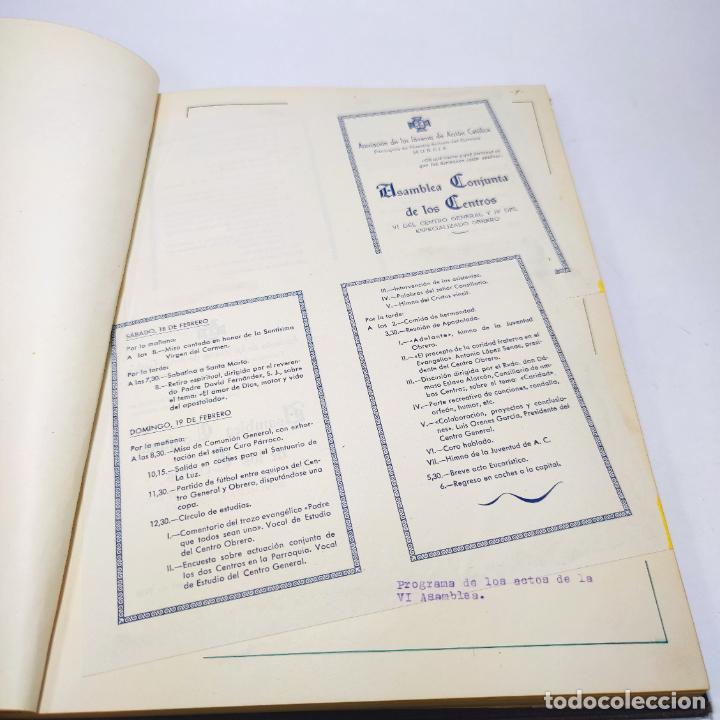 Libros antiguos: Álbum bibliográfico, documentas y fotográfico del centro general Santa María del Carmen de Murcia. - Foto 8 - 266305048