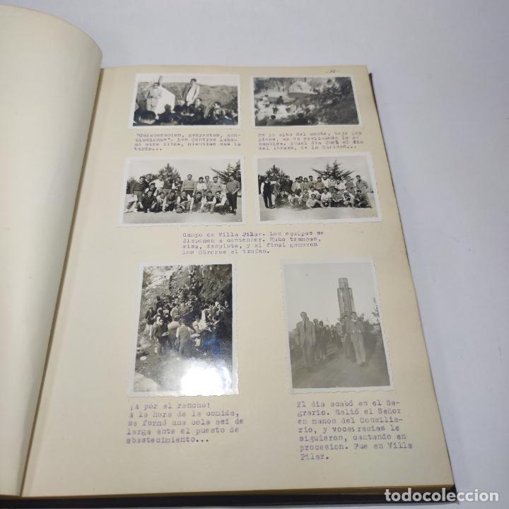 Libros antiguos: Álbum bibliográfico, documentas y fotográfico del centro general Santa María del Carmen de Murcia. - Foto 10 - 266305048