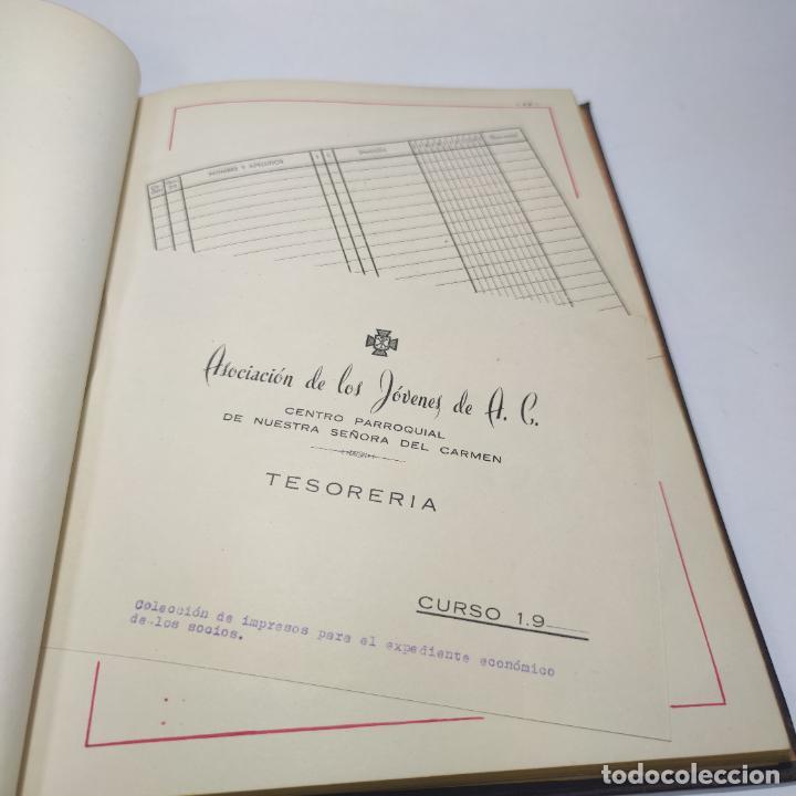 Libros antiguos: Álbum bibliográfico, documentas y fotográfico del centro general Santa María del Carmen de Murcia. - Foto 11 - 266305048