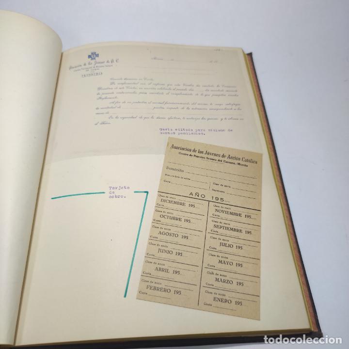 Libros antiguos: Álbum bibliográfico, documentas y fotográfico del centro general Santa María del Carmen de Murcia. - Foto 12 - 266305048