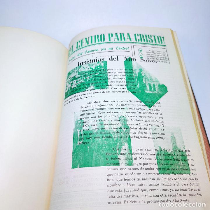 Libros antiguos: Álbum bibliográfico, documentas y fotográfico del centro general Santa María del Carmen de Murcia. - Foto 14 - 266305048