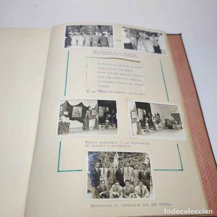 Libros antiguos: Álbum bibliográfico, documentas y fotográfico del centro general Santa María del Carmen de Murcia. - Foto 16 - 266305048