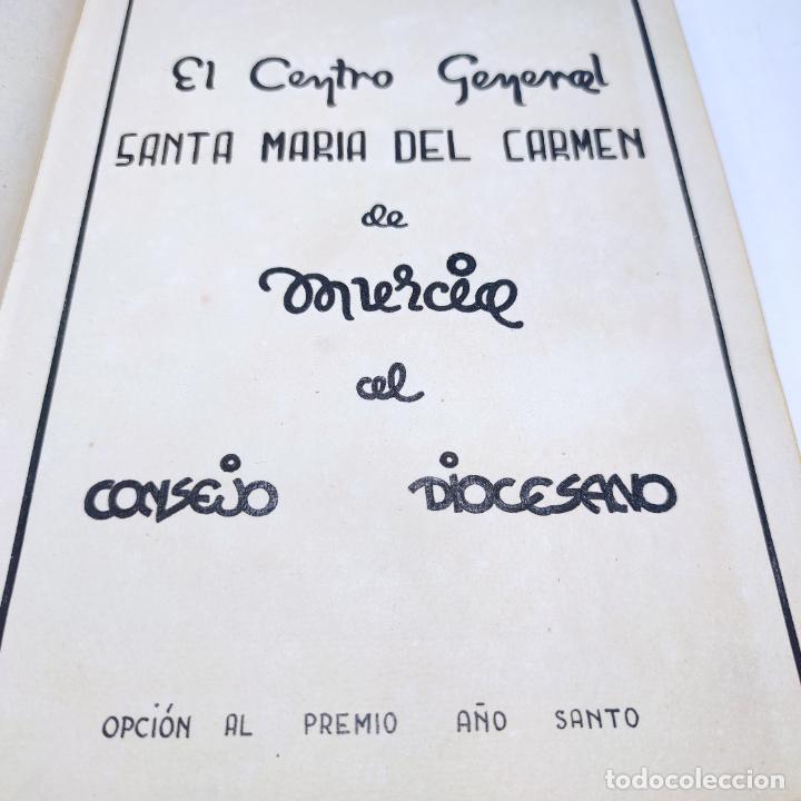 ÁLBUM BIBLIOGRÁFICO, DOCUMENTAS Y FOTOGRÁFICO DEL CENTRO GENERAL SANTA MARÍA DEL CARMEN DE MURCIA. (Libros antiguos (hasta 1936), raros y curiosos - Historia Moderna)