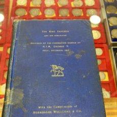 Libros antiguos: LIBRO SOUVENIR DE LA CORONACIÓN DE GEORGE V, 1911, EN INGLÉS. Lote 266724618
