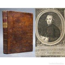 Libros antiguos: 1789 HISTORIA DE LA VIDA DEL HOMBRE - ANTROPOLOGÍA - CUENCA - INQUISICIÓN - HERVÁS Y PANDURO,. Lote 267040304