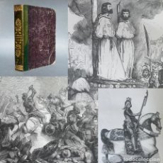 Libros antiguos: 1865 - HEROES Y MARAVILLAS DEL MUNDO - CRUZADAS - TEMPLARIOS - GRABADOS - HISTORIA. Lote 267077849