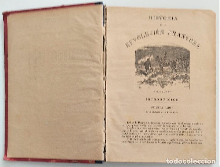 Libros antiguos: HISTORIA DE LA REVOLUCIÓN FRANCESA - TOMO I - MICHELET - TRADUCCIÓN BLASCO IBAÑEZ - AÑO 1898 - Foto 4 - 267355084