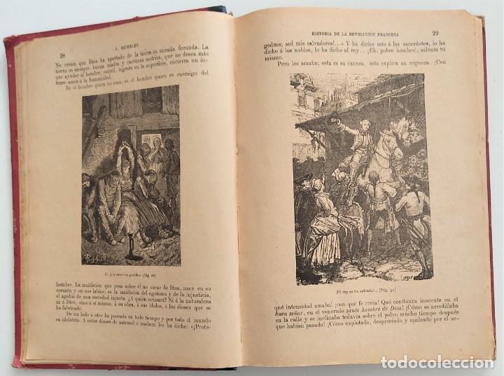 Libros antiguos: HISTORIA DE LA REVOLUCIÓN FRANCESA - TOMO I - MICHELET - TRADUCCIÓN BLASCO IBAÑEZ - AÑO 1898 - Foto 5 - 267355084