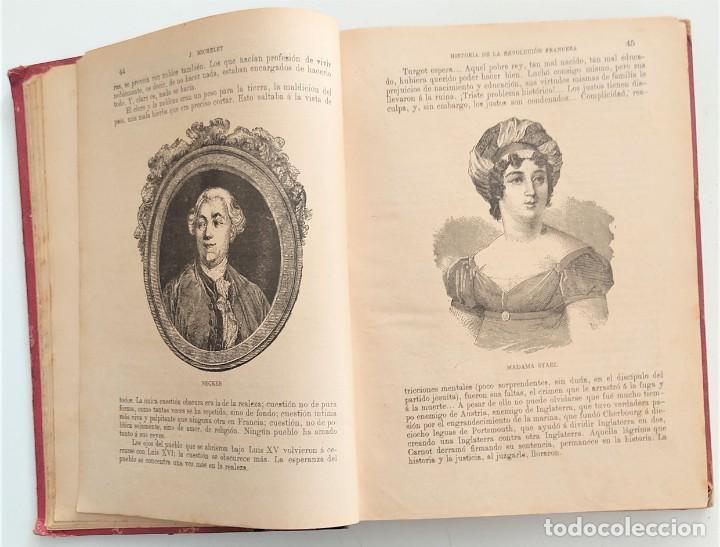 Libros antiguos: HISTORIA DE LA REVOLUCIÓN FRANCESA - TOMO I - MICHELET - TRADUCCIÓN BLASCO IBAÑEZ - AÑO 1898 - Foto 6 - 267355084