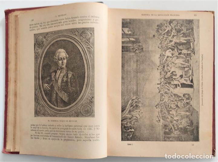 Libros antiguos: HISTORIA DE LA REVOLUCIÓN FRANCESA - TOMO I - MICHELET - TRADUCCIÓN BLASCO IBAÑEZ - AÑO 1898 - Foto 7 - 267355084