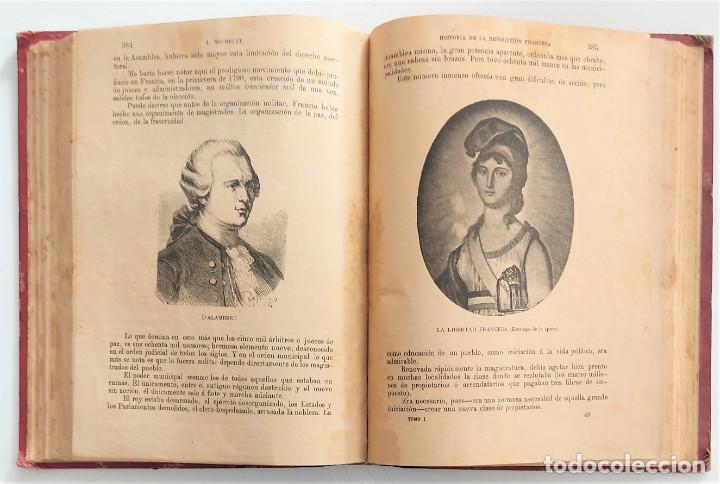 Libros antiguos: HISTORIA DE LA REVOLUCIÓN FRANCESA - TOMO I - MICHELET - TRADUCCIÓN BLASCO IBAÑEZ - AÑO 1898 - Foto 9 - 267355084