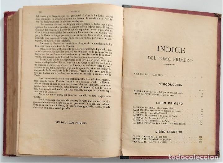 Libros antiguos: HISTORIA DE LA REVOLUCIÓN FRANCESA - TOMO I - MICHELET - TRADUCCIÓN BLASCO IBAÑEZ - AÑO 1898 - Foto 10 - 267355084