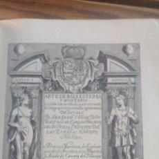 Libros antiguos: (CAZA) ARTE DE BALLESTERIA Y MONTERÍA. ALONSO MARTÍNEZ DE ESPINAR. Nº164 EPESA 1946.. Lote 267435894