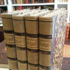 Libros antiguos: 1856 - ANTONIO FERRER DEL RÍO - HISTORIA DEL REINADO DE CARLOS III EN ESPAÑA. 4 TOMOS. Lote 268313379
