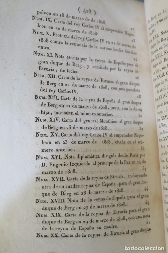 Libros antiguos: 1814.- MEMORIAS PARA LA HISTORIA DE LA REVOLUCION ESPAÑOLA. LLORENTE. NELLERTO. PARIS. 2 TOMOS - Foto 8 - 269037264