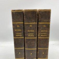 Libros antiguos: EL MUNDO. HISTORIA DE TODOS LOS PUEBLOS - HISTORIA DE FRANCIA. 3 TOMOS. A.J.C. SAINT-PROSPER. 1840. Lote 269187043