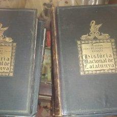Libros antiguos: LIBROS HISTÒRIA NACIONAL DE CATALUNYA. Lote 269408968