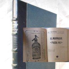 Libros antiguos: ALMANAQUE DE LAS PROVINCIAS PARA 1913.. Lote 269446008