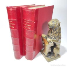 Libros antiguos: HISTORIA GENERAL DE ESPAÑA. MIGUEL MORAYTA. 2 TOMOS. FELIPE GONZÁLEZ ROJAS. 1888. GRAN TAMAÑO.. Lote 269705783