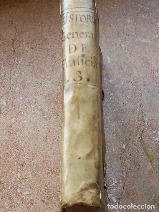 Libros antiguos: HISTORIA GENERAL DE FRANCIA - TOMO III : SUCCESSION DE SUS MONARCAS - MADRID - MDCCLX. - Foto 2 - 269831233