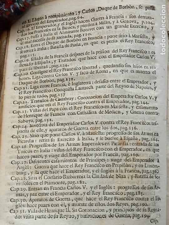 Libros antiguos: HISTORIA GENERAL DE FRANCIA - TOMO III : SUCCESSION DE SUS MONARCAS - MADRID - MDCCLX. - Foto 7 - 269831233