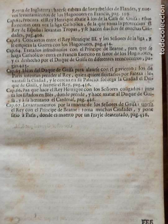 Libros antiguos: HISTORIA GENERAL DE FRANCIA - TOMO III : SUCCESSION DE SUS MONARCAS - MADRID - MDCCLX. - Foto 10 - 269831233
