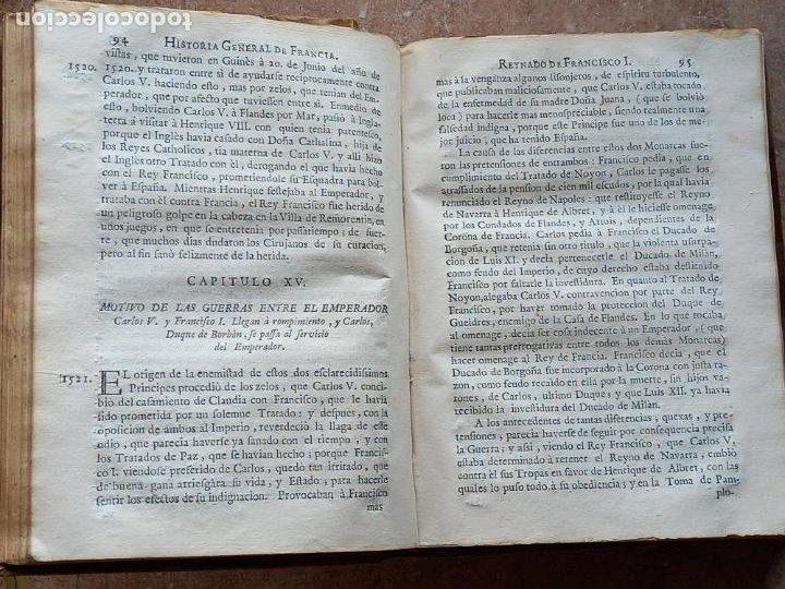 Libros antiguos: HISTORIA GENERAL DE FRANCIA - TOMO III : SUCCESSION DE SUS MONARCAS - MADRID - MDCCLX. - Foto 12 - 269831233
