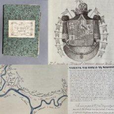 Libros antiguos: S. XIX - DOCUMENTOS RELATIVOS A LA REDONDELA - AYAMONTE - MARISMAS - CONDE DE ALTAMIRA -. Lote 270099818