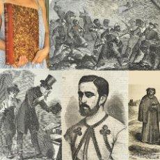 Libros antiguos: AÑO 1872 - II GUERRA CARLISTA - EL PERIÓDICO PARA TODOS SEMANARIO ILUSTRADO - CARLISMO. Lote 271494673