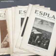 Libros antiguos: AÑO 1934 - LOTE DE 9 REVISTAS L´ESPLAI IL-LUSTRACIO CATALANA - CATALUÑA. Lote 271498698