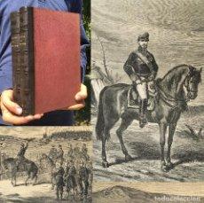 Libros antiguos: AÑO 1871 - HISTORIA DEL GENERAL PRIM - GUERRA CIVIL CARLISTA - DE AFRICA. Lote 271500228