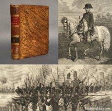 Libros antiguos: 1863 - GUERRA DE INDEPENDENCIA - MAPA DE MADRID - TARRAGONA - LA CORUÑA - CADIZ - FUENTERRABÍA. Lote 271507543