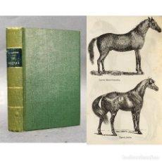 Libros antiguos: AÑO 1889 - LE CHEVAL - HÍPICA - CABALLO - VETERINARIO - ALBEITERÍA. Lote 271534723