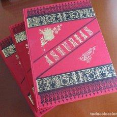 Libros antiguos: ASTURIAS DE OCTAVIO BELLMUNT Y FERMÍN CANELLA - 3 TOMOS COLECCION COMPLETA. Lote 275094543