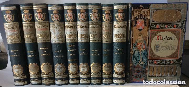 HISTORIA GENERAL D ESPAÑA EXCMO.SR.D.ANTONIO CÁNOVAS DEL CASTILLO CÁNOVAS DEL CASTILLO, (Libros antiguos (hasta 1936), raros y curiosos - Historia Moderna)