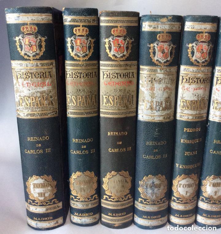 Libros antiguos: HISTORIA GENERAL D ESPAÑA EXCMO.SR.D.ANTONIO CÁNOVAS DEL CASTILLO CÁNOVAS DEL CASTILLO, - Foto 2 - 276670858