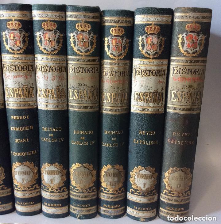 Libros antiguos: HISTORIA GENERAL D ESPAÑA EXCMO.SR.D.ANTONIO CÁNOVAS DEL CASTILLO CÁNOVAS DEL CASTILLO, - Foto 3 - 276670858