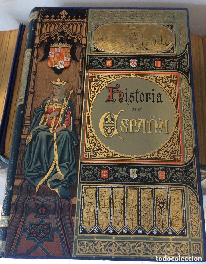 Libros antiguos: HISTORIA GENERAL D ESPAÑA EXCMO.SR.D.ANTONIO CÁNOVAS DEL CASTILLO CÁNOVAS DEL CASTILLO, - Foto 6 - 276670858